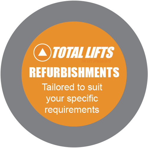 Total Lifts Refurbishments - Tailored to suit your specific requirements